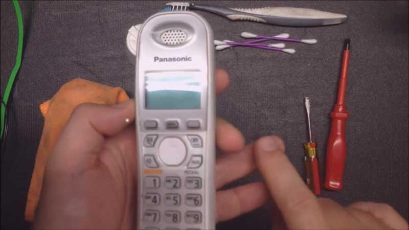 تعمیرات تلفن بیسیم پاناسونیک