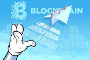 تلگرام با فناوری بلاک چین