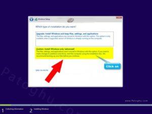 روش نصب ویندوز 10