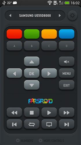 قابلیت کنترل تلویزیون با گوشی