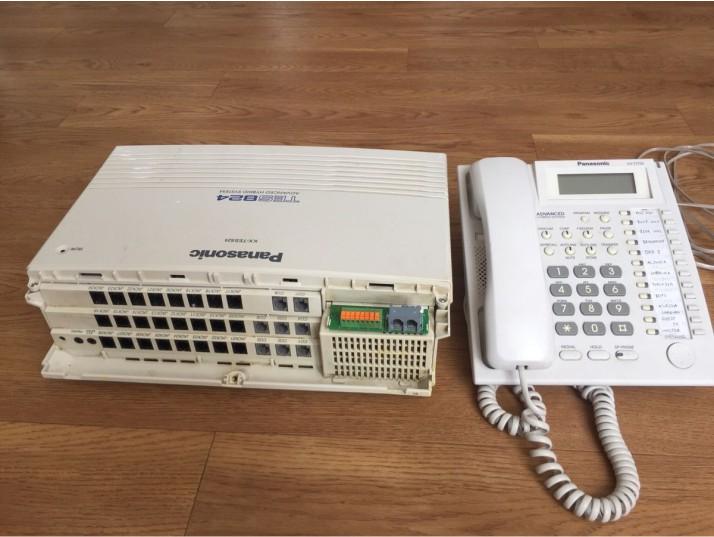 دستگاه سانترال کم ظرفیت kx-tes824
