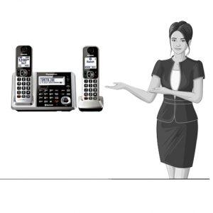 قابلیت های تلفن KX-TGF372