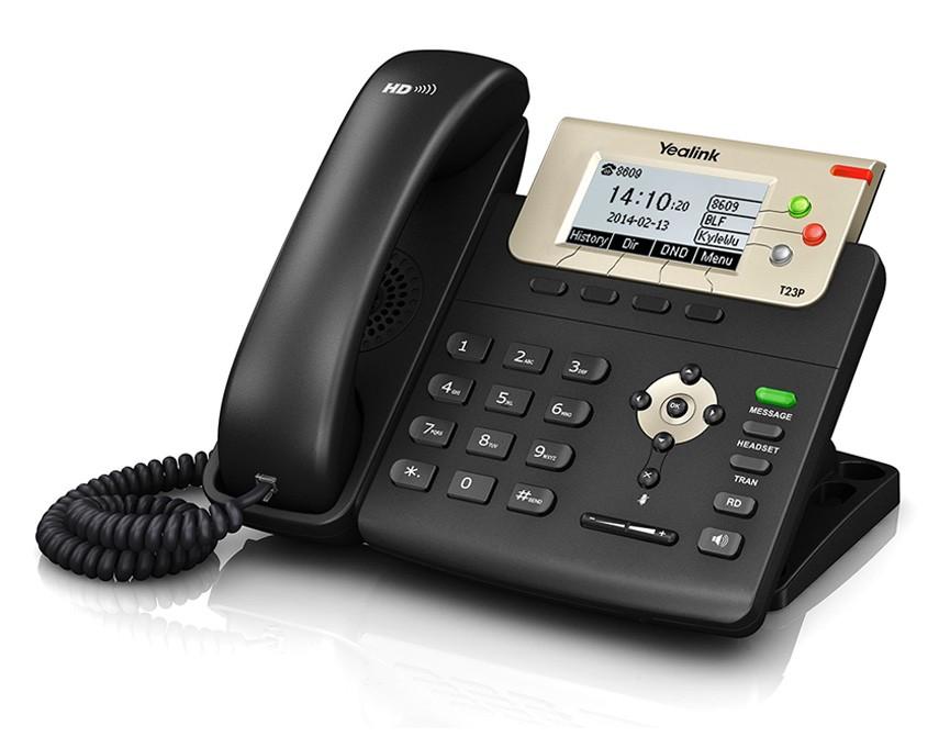 تلفن تحت شبکه Yealink T23P