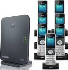تلفن تحت شبکه بيسيم مدل W60p يلينک