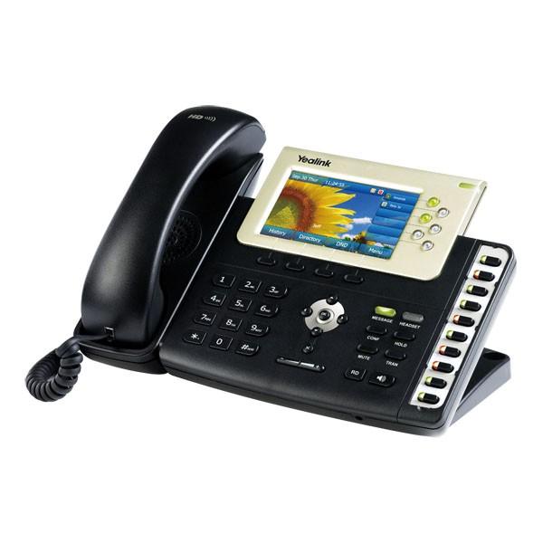 تلفن تحت شبکه SIP-T38G یلینک