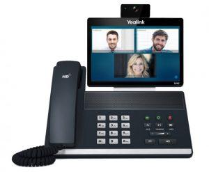 تلفن تحت شبکه ویدیویی SIP VP-T49G یلینک