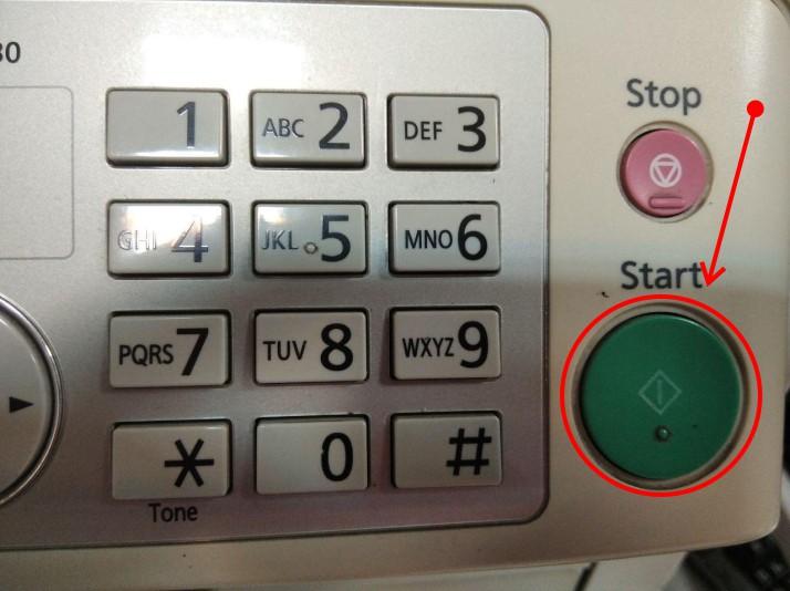 دکمه استارت را بزنید