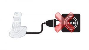 آموزش تعمیر تلفن سوخته با برق