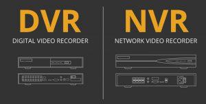 تفاوت DVR و NVR