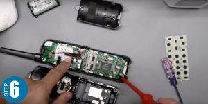 تعمیر صفحه کلید تلفن بیسیم