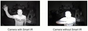مقایسه تصویر دوربین معمولی با هوشمند