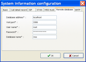 اطلاعات سیستم پیکربندی