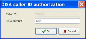 مجوز شناسه تماس گیرنده DISA