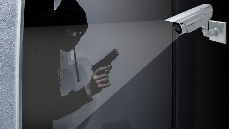 استفاده از دوربین مدار بسته برای جلوگیری از سرقت