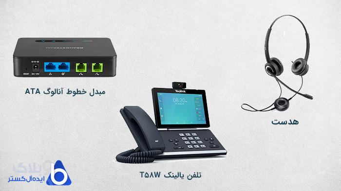لوازم جانبی اضافی برای سیستم VoIP چیست