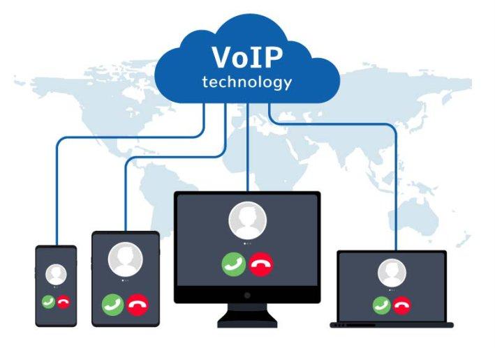 استفاده از تلفن های همراه در ویپ
