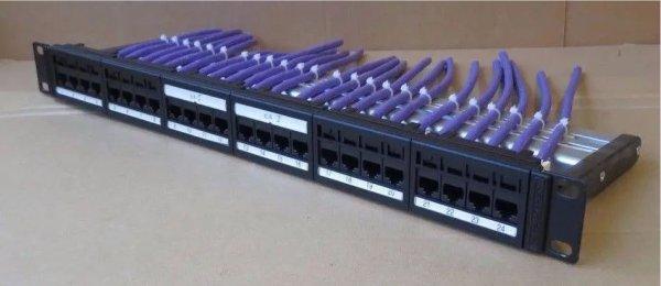 Cat5e Cat6 Ethernet Patch Panel